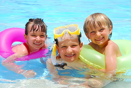 Enroll Your Child in Year-round Swimming Lessons at the Y
