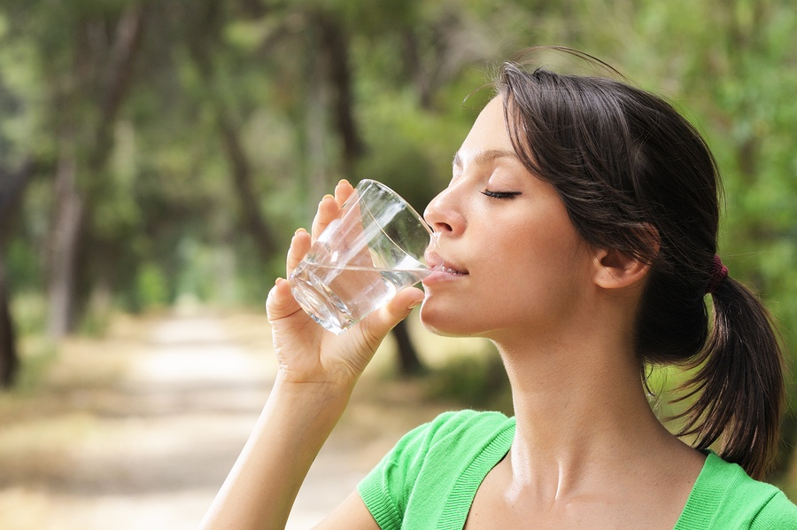 Drink Lots of Water During Cooler Weather